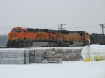 Helper units BNSF 5821 & 9949 still with N956