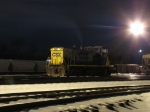 CSX 1177 idling the night away