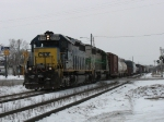 CSX 8318 leading Q326-29 over Ivanrest Ave