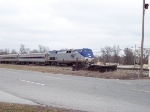 Amtrak 391 with two units
