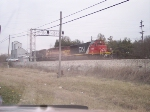 Light engine movement with one of the last WC SD45's