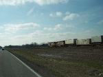 Southbound intermodal