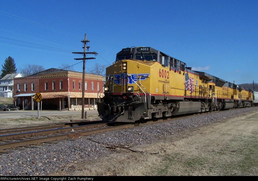 Northbound Empty Grain Train On the De Soto Sub.