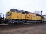 Repainted SD60M UP 2314