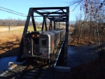 New Jersey Transit Train #417 at Hogback Bridge