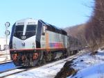 New Jersey Transit Train #854 at Roxbury