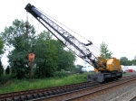 Conrail MOW Hook at CSA Doubletracking Project