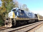 CSX 5885 Work Train Y151
