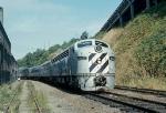Vancouver BC train