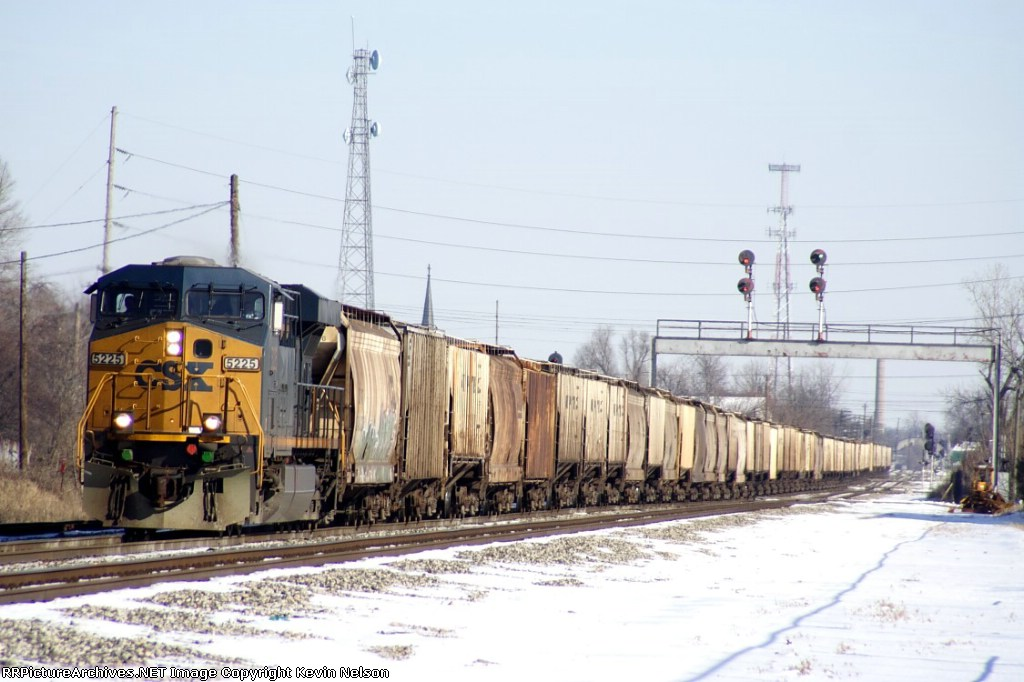 CSX 5225 ES44DC