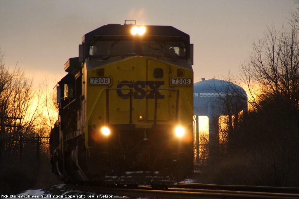 CSX 7308 C40-8W