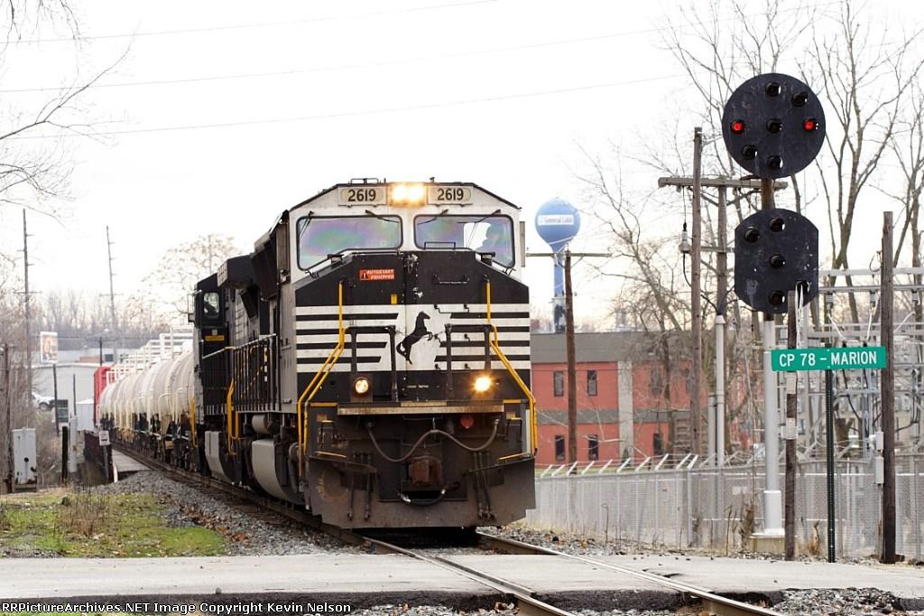 NS 2619 SD70M