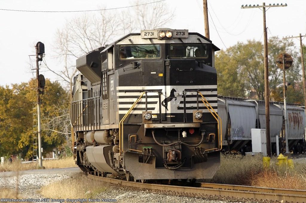NS 2731 SD70M-2