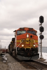 BNSF 5460 C40-9W