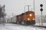 BNSF 7614 ES44DC