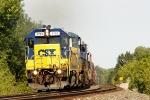 CSX 2743 GP38-2