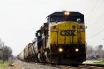 CSX 7342 C40-8W
