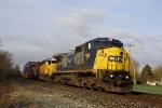 CSX 7394 C40-8W