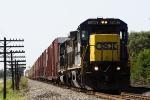 CSX 7597 C40-8