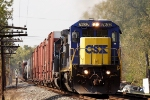 CSX 7632 C40-8