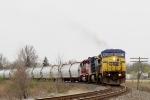 CSX 7884 C40-8W