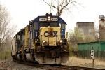CSX 8470 SD40-2