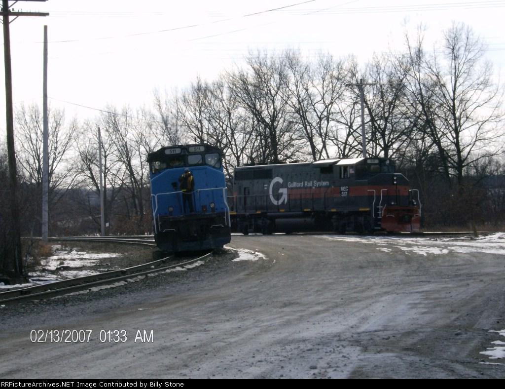 MEC 511 and 517 meet