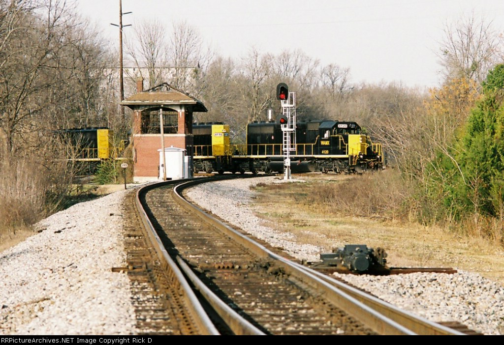 Alabama Southern RR at old GM&O interlock