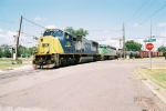 CSX/KCS &quot;extra&quot; train on the Alabama Southern RR