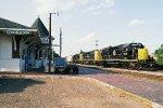 ABS-CSX detour train NS-31V