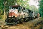 "CSX/KCS ""extra"" train on the Alabama Southern RR"