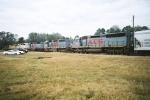 The first Alabama Southern Railroad train