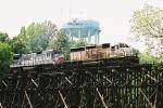 "CSX/KCS ""extra"" train on Alabama Southern RR"