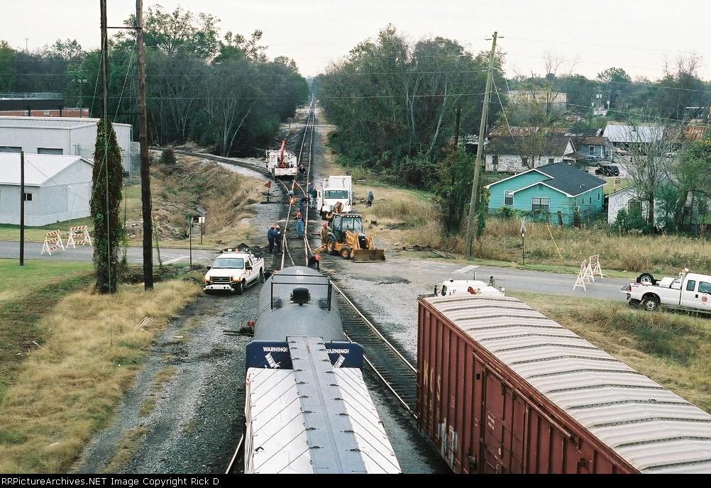 """KCS """"Birmingham"""" train derailment"""