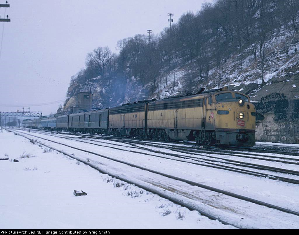 Early Amtrak North Coast Hiawatha