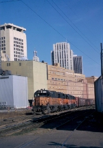 Milwaukee Road GP-40s