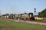 CSXT K94002 W/CSXT 7532 CSXT 7361, CYDZ rock train