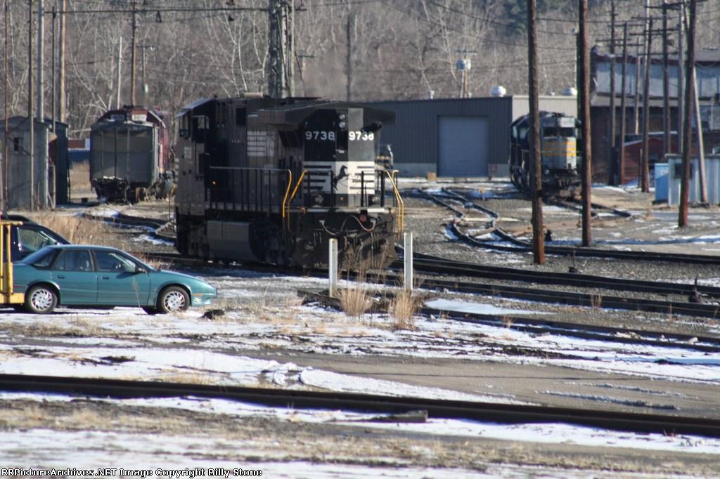 East Deerfield Engine Service Area