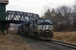 NS 21M passing the old CNJ station