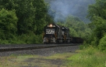 SD38's working Allentown Yard