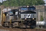 18N comes out of Allentown Yard after picking up a new unit.