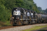 M9G with consecutively numbered ex SOU High Nose SD40-2's