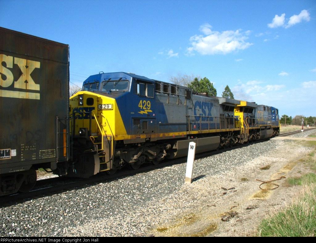 CSX 429 & 669