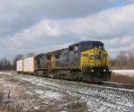 CSX 7882 & 9030 continuing east