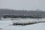 D708 waiting with 3 tanks for CPS as the switch is cleared of ice