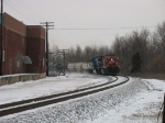 CP 9740 leading X500 through the curve