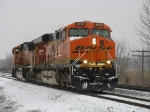 BNSF 5906 & 8949 in the siding