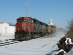 CN 5522 leading light power with WC 6911 & UP 9733 & 4173
