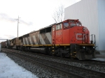 CN 5400, UP 4301 & CSX 364 awaiting a new crew before continuing east with M392