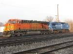 BNSF 7741 & NS 8440
